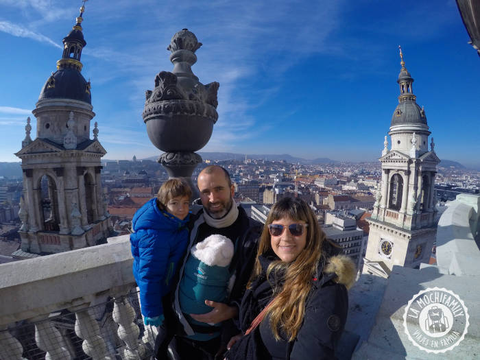Subir a la cúpula de la Basílica de San Esteban