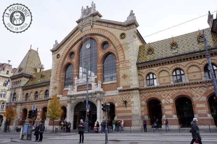 Mercado Central de Budapest, una de las mejores cosas que visitar en Budapest