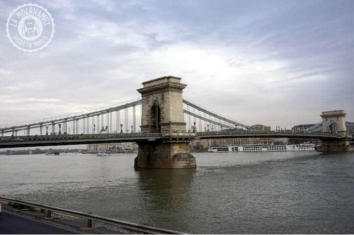 Puente de las cadenas, el puente más famoso de Budapest