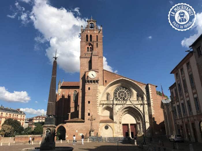 Catedral de Saint Ettienne. Imprescindible en Toulouse en familia