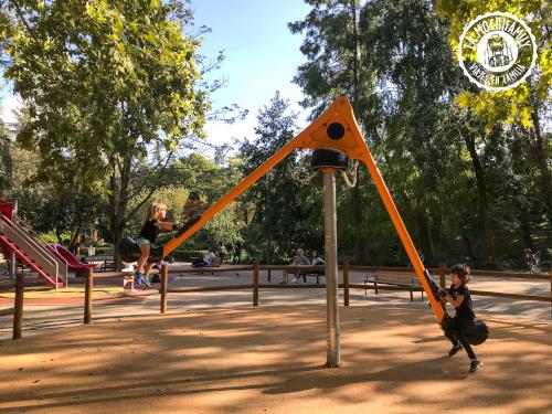 Parque del jardin japones. Planazo en Toulouse con niños pequeños