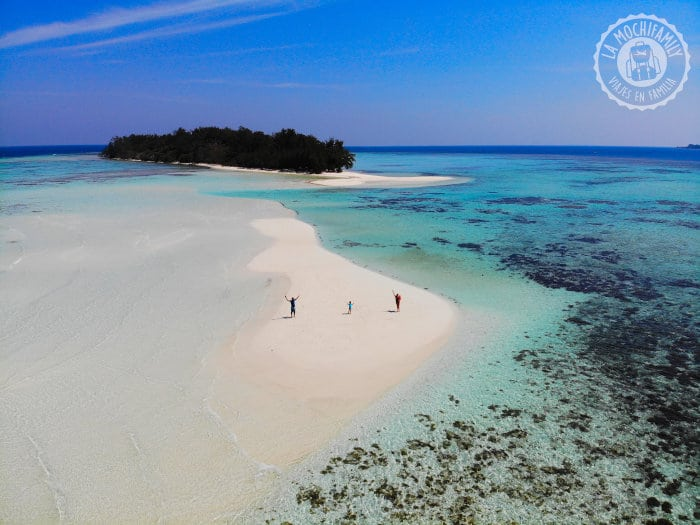 Foto con dron plegable Karimunjawa