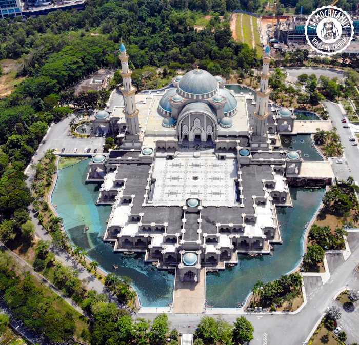 Mejor drone plegable foto Mezquita