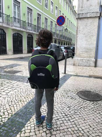 Nuestra experiencia y opinión de la mochila alzador Trunki