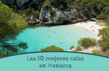 Las 10 mejores calas de Menorca