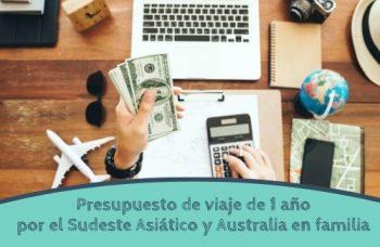 Presupuesto de un año de viaje